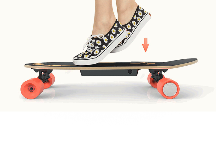 Enjoy the Perfect Combination of Feet and Skateboards.